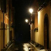 20170914225809-01 Via Ludovico Antonio Muratori accanto alla Rocca - Massimo F. Dondi - Vignola (MO)