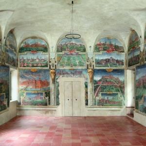 Castello di Spezzano - Sala delle Vedute, Castello di Spezzano foto di: |Lucio Rossi, Parma| - archivio Comune di Fiorano Modenese