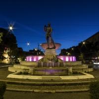 La Fontana dei due Fiumi - Angelo nastri nacchio - Modena (MO)
