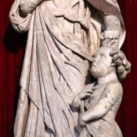 Agostino di duccio, san gemignano salva un fanciullo caduto dala ghirlanda, 1442 ca - Sailko - Modena (MO)