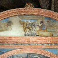 Artisti di scuola modenese, giudizio finale, finto polittico, profeti e santi, xv secolo, 02 natività - Sailko - Modena (MO)