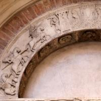 Ambito di wiligelmo, porta della pescheria, 02 ciclo di artù 02 - Sailko - Modena (MO)