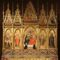 Serafino de' serafini, polittico dell'incoronazione della vergine e santi, 1385, 01 - Sailko - Modena (MO)