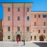 Abbazia  di San Silvestro - Museo Benedettino e Diocesano - Prospetto sulla piazza foto di: |Claudio Minghi| - w