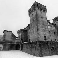 Rocca innevata - Quart1984 - Vignola (MO)
