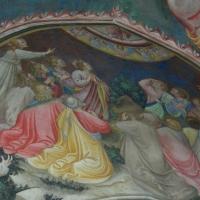 Maestro di Vignola - Ascensione - cappella Contrari Rocca di Vignola particolare - Nicola Quirico - Vignola (MO)