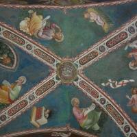 Maestro di Vignola - Volta Evangelisti - cappella Contrari Rocca di Vignola - Nicola Quirico - Vignola (MO)