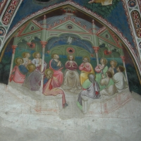 Maestro di Vignola Pentecoste - cappella Contrari, Rocca di Vignola particolare - Nicola Quirico - Vignola (MO)
