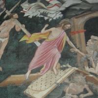 Maestro di Vignola La discesa al limbo - cappella Contrari, Rocca di Vignola particolare - Nicola Quirico - Vignola (MO)