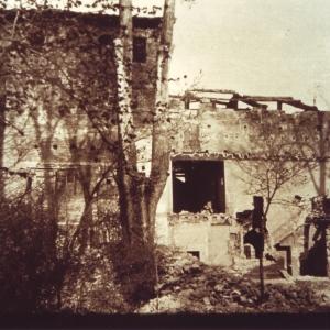 Castello di Formigine - Il castello dopo i bombardamenti foto di: |Comune di Formigine| - Comune di Formigine