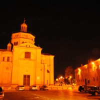 Chiesa di Santa Maria di Campagna notte - Phabius - Piacenza (PC)