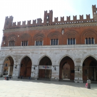 Palazzo gotico fronte - Snoerckel-V - Piacenza (PC)