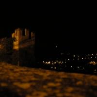 Veduta notturna dalla Rocca Viscontea - antonella mereu - Castell'Arquato (PC)