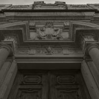 Ex chiesa di San Vincenzo - prospettiva della facciata - Matteo Bettini - Piacenza (PC)