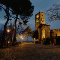 Antica Pieve al tramonto - Ghizzoni Claudio - Vernasca (PC)