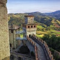 Veduta da Vigoleno - CRISTIANO DALLACASAGRANDE - Vernasca (PC)