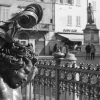 Piacenza - Decorazione presente sul basamento della statua equestre di Alessando Farnese - Matteo Bettini - Piacenza (PC)
