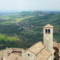 Vigoleno vista dall'alto della sua Torre - Annalisa.Caretto - Vernasca (PC)