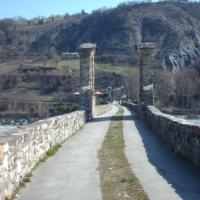 Antico ponte di Bobbio detto anche di San Colombano