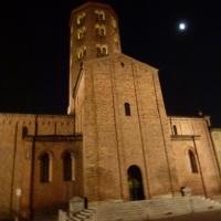Sant'Antonino notturno con luna - Michele aldi - Piacenza (PC)