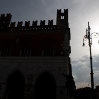 Palazzogotico al tramonto - Filmarche - Piacenza (PC)