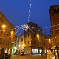 Piazza Borgo con luminarie - Michele aldi - Piacenza (PC)