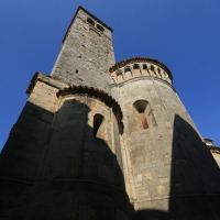 L'abside della chiesa - Tiziana coppetti - Vernasca (PC)