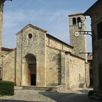La Pieve romanica di S. Giorgio - Rosapicci - Vernasca (PC)