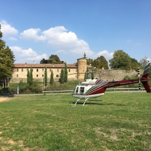 Castello di Rivalta - Veduta del borgo foto di: Giulia Pilotta - Fondazione Zanardi Landi