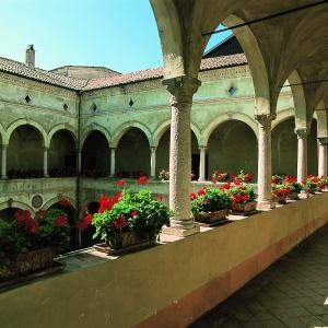 Castello di Rivalta - Cortile interno ( 1505) foto di: Bertuzzi Simone - Fondazione Zanardi Landi