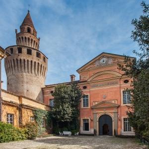 Castello di Rivalta - L' ingresso del castello foto di: Bertuzzi Simone - Fondazione Zanardi Landi