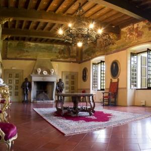 Castello di San Pietro in Cerro - Salone d'Onore - Castello di San Pietro in Cerro (PC) foto di: |Castello di San Pietro| - Moravisione