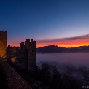 Rocca Viscontea - tramonto foto di: |Moreno Granelli| - ufficio turistico castell'arquato