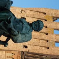 Dettaglio volto Monumento Giuseppe Verdi - Busseto - IL MORUZ - Busseto (PR)