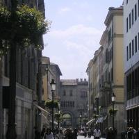Palazzo Comunale Parma vista da Via Cavour - Palladino Neil - Parma (PR)