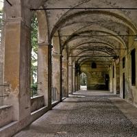 Rocca di San Secondo Parmense - Porticato nel cortile interno - Caba2011 - San Secondo Parmense (PR)