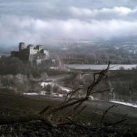Castello di Torrechiara visioni in infrarosso - Lara zanarini - Langhirano (PR)