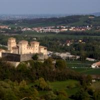 Panoramica della pianura col castello di Torrechiara - Sonia8 - Langhirano (PR)