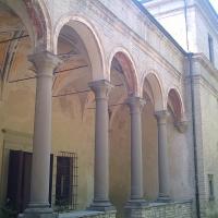 Palazzetto Eucherio Sanvitale portico - Marco Musmeci - Parma (PR)