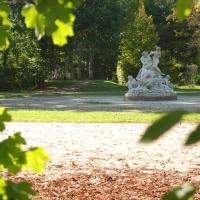 ID 034027624 ParcoDucale gruppo con Sileno ed Egle e il Tempietto d'Arcadia - Manuparma - Parma (PR)