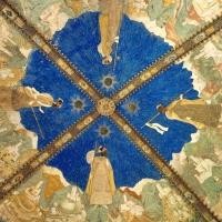 Castello di Torrechiara, Camera d' Oro, il soffitto - Enrico Robetto - Langhirano (PR)