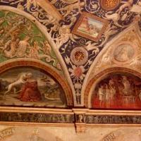 Appartamento della Badessa,affresco di Alessandro Araldi particolare - Clawsb - Parma (PR)