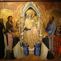 Agnolo Gaddi Madonna con Bambino in trono e Santi - Waltre Manni - Parma (PR)