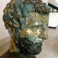 Museo Archeologico Parma - Testa ritrovamento Veleia Romana - Waltre manni - Parma (PR)