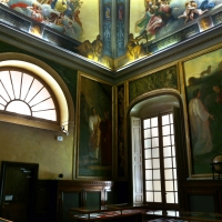 Parma, biblioteca palatina, sala di dante, decorata da francesco scaramuzza, 1843-57, 01 - Sailko - Parma (PR)