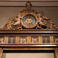 Bottega parmense, cornice di ancona d'altare, 1500-25 ca., da s. giovanni evangelista, 01 - Sailko - Parma (PR)