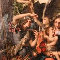 Giorgio gandini del grano, sacra famiglia con santi e angeli, 1534-35, 03 michele con la bilancia - Sailko - Parma (PR)