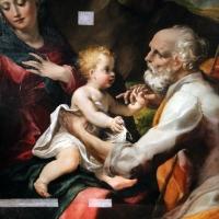 Michelangelo anselmi, sacra famiglia con santa barbara e un angelo, 1534, 02 - Sailko - Parma (PR)