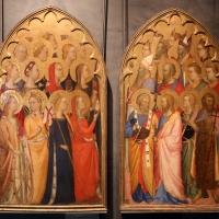 Puccio di simone, teoria di santi, 1350 ca - Sailko - Parma (PR)