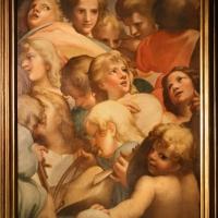 Annibale e agostino carracci (attr.), gruppi di angeli (da correggio), 1590 ca. 01 - Sailko - Parma (PR)
